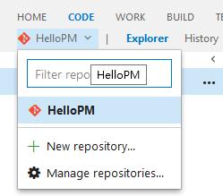 new repository...
