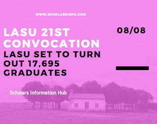LASU 21st Convocation
