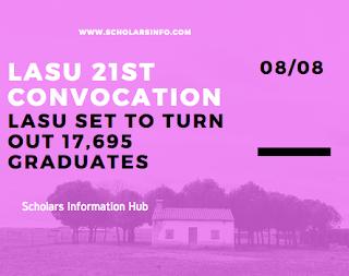 LASU 21st Convocation