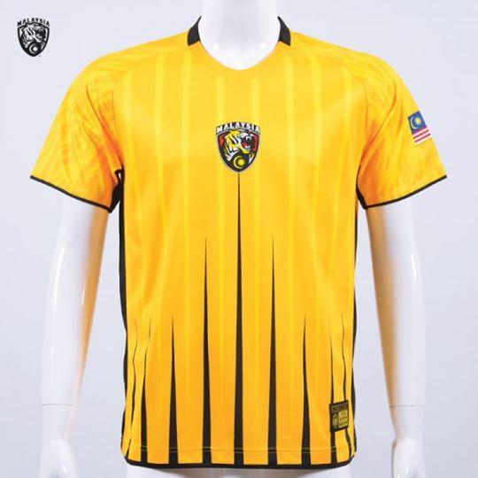 harga jersi harimau malaysia, beli jersey harimau malaysia, gambar jersi harimau malaysia warna kuning, harga t-shirt kuning harimau malaysia, cara beli jersi harimau malaysia