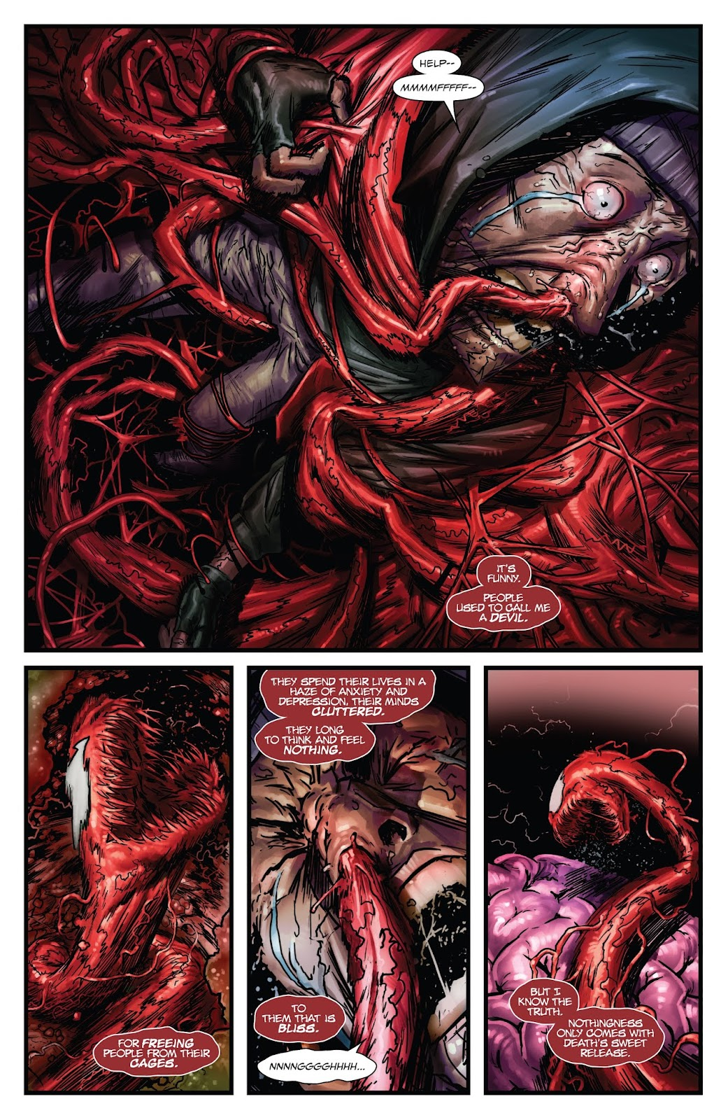 Read online Web of Venom: Unleashed comic -  Issue # Full - 28