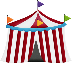 Clipart del Circo para Bebés.
