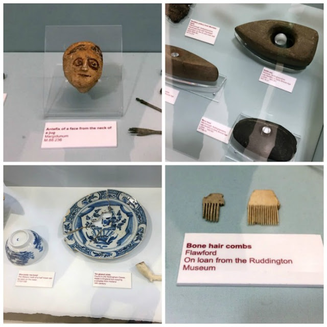 Family Activities in Nottingham | Morgan's Milieu: Artefacts dug up around Nottingham on show at Nottingham Lakeside.