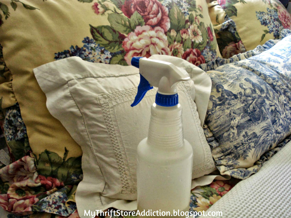 DIY Lavender Linen Spray & Lemongrass Household Cleaner with Essential Oils  mythriftstoreaddiction.blogspot.com
