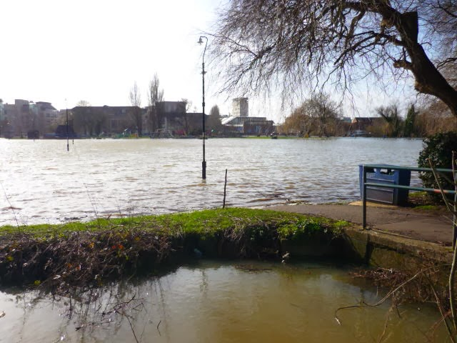 Christchurch meadows flooding