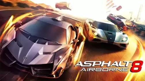 Asphalt 8 Airborne v1.8.0i Apk Mod + Data
