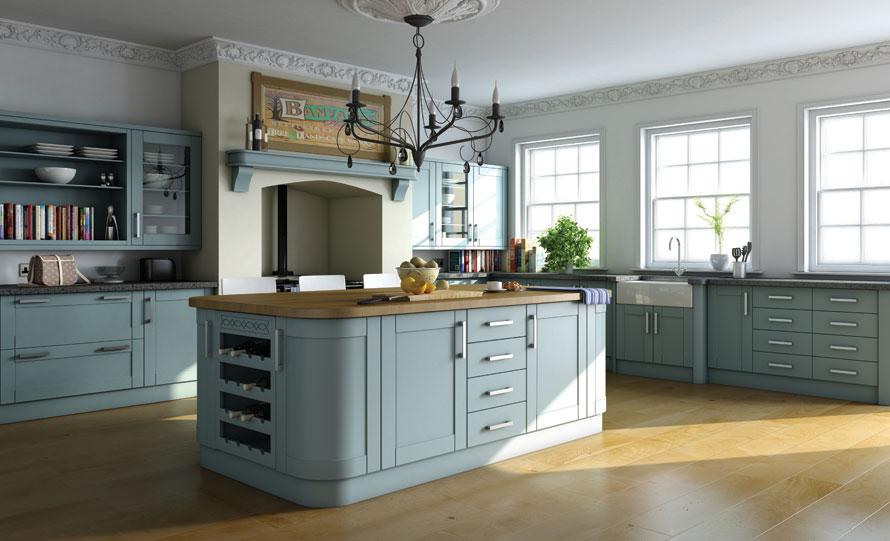22 Fotos De Cozinhas Para Quem Adora Azul Decora 231 227 O E Ideias