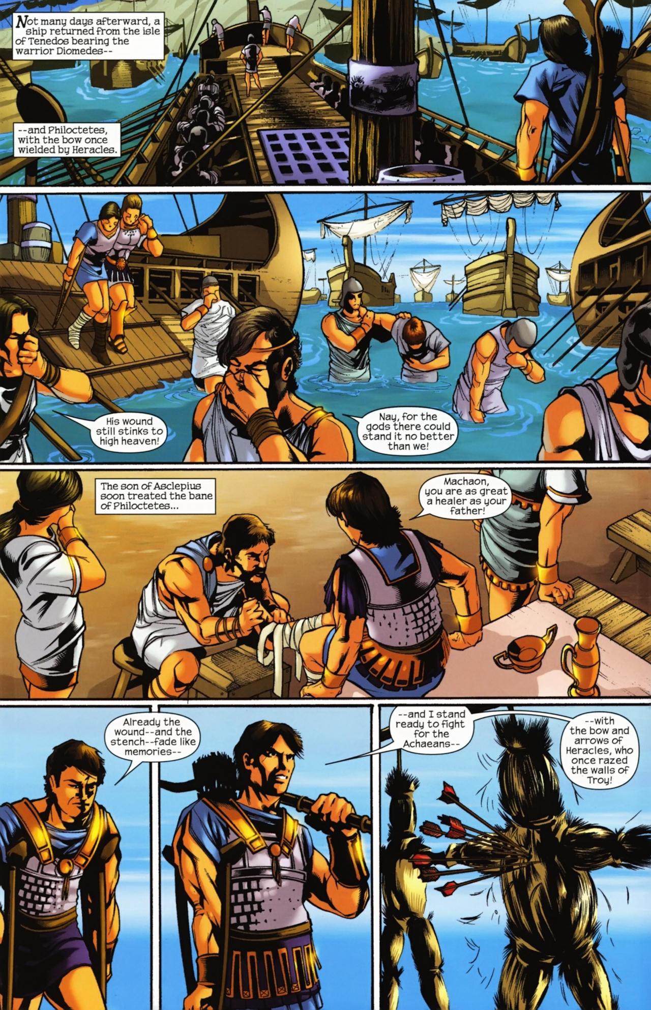 Read online Trojan War comic -  Issue #4 - 14