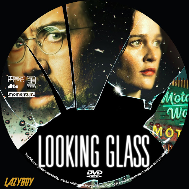 Looking Glass DVD Label