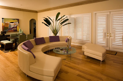 Window Blinds Dressings for the Living Room
