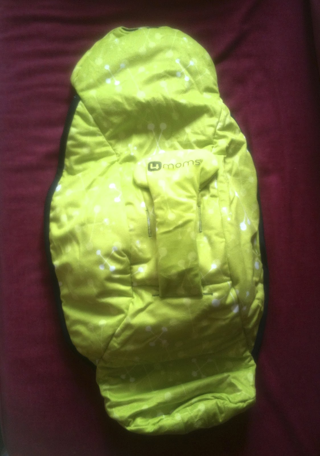 Items4sale Mamaroo Seat Fabric Cover Only Green Plush