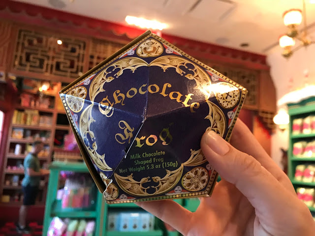 chocolate frog at universal studios hollywood