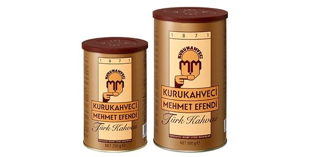 kurukahveci mehmet efendi türk kahvesi teneke kutu - KahveKafeNet