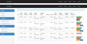 Sistem Informasi Penjualan Kredit dan cash Motor PHP Mysql
