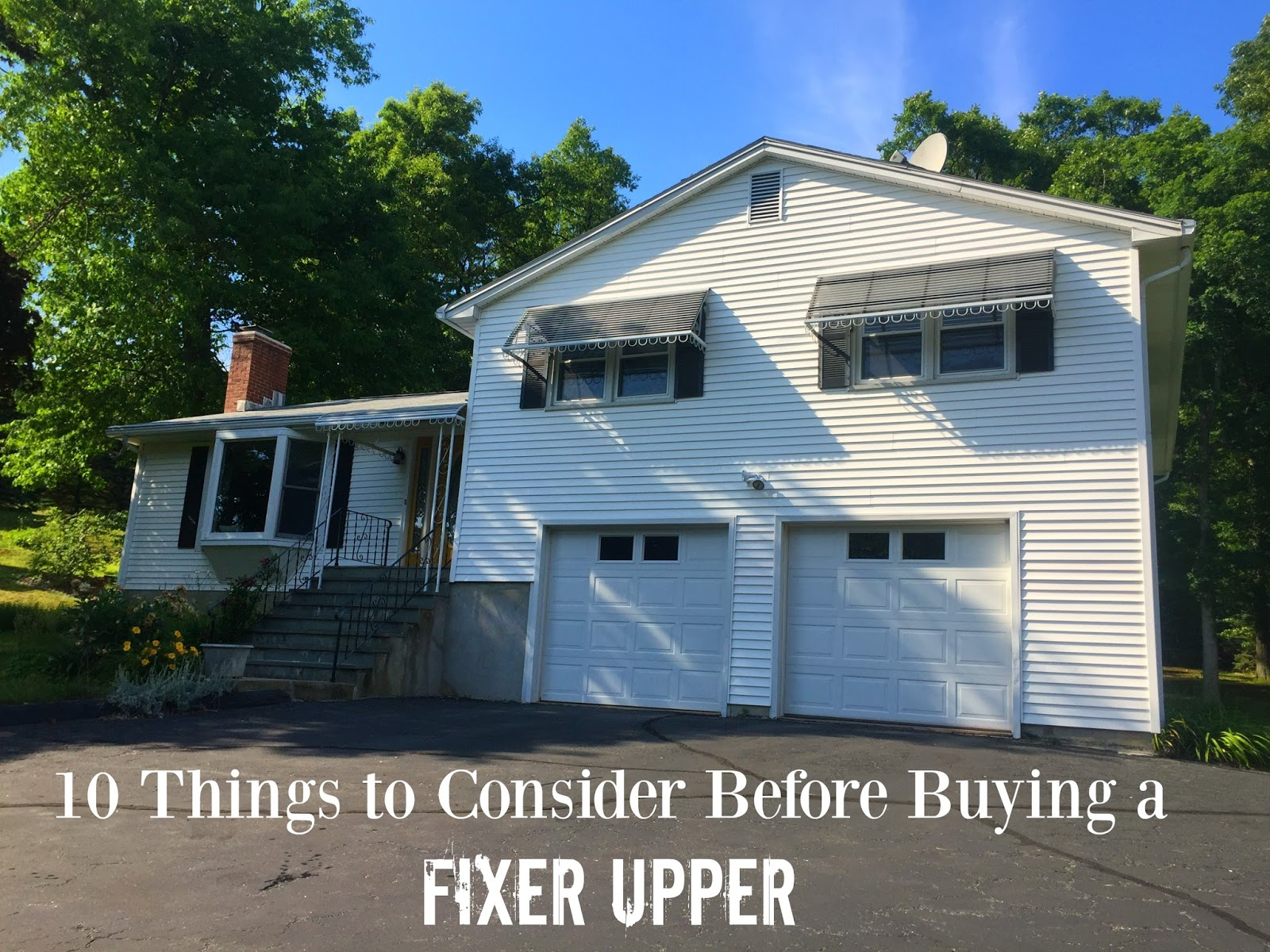 Drew danielle design 10 things to consider before buying - Buying a fixer upper ...