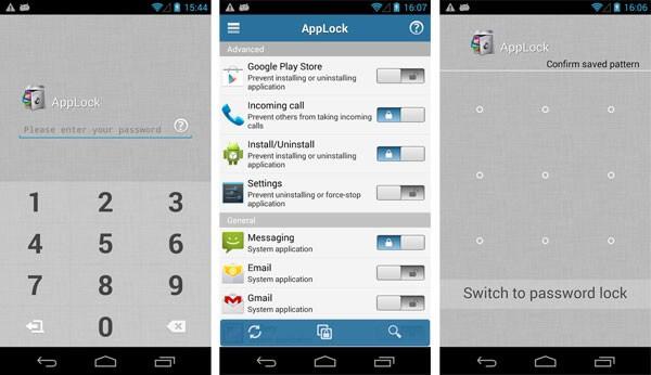 تحميل تطبيق App Lock لقفل التطبيقات برقم سري