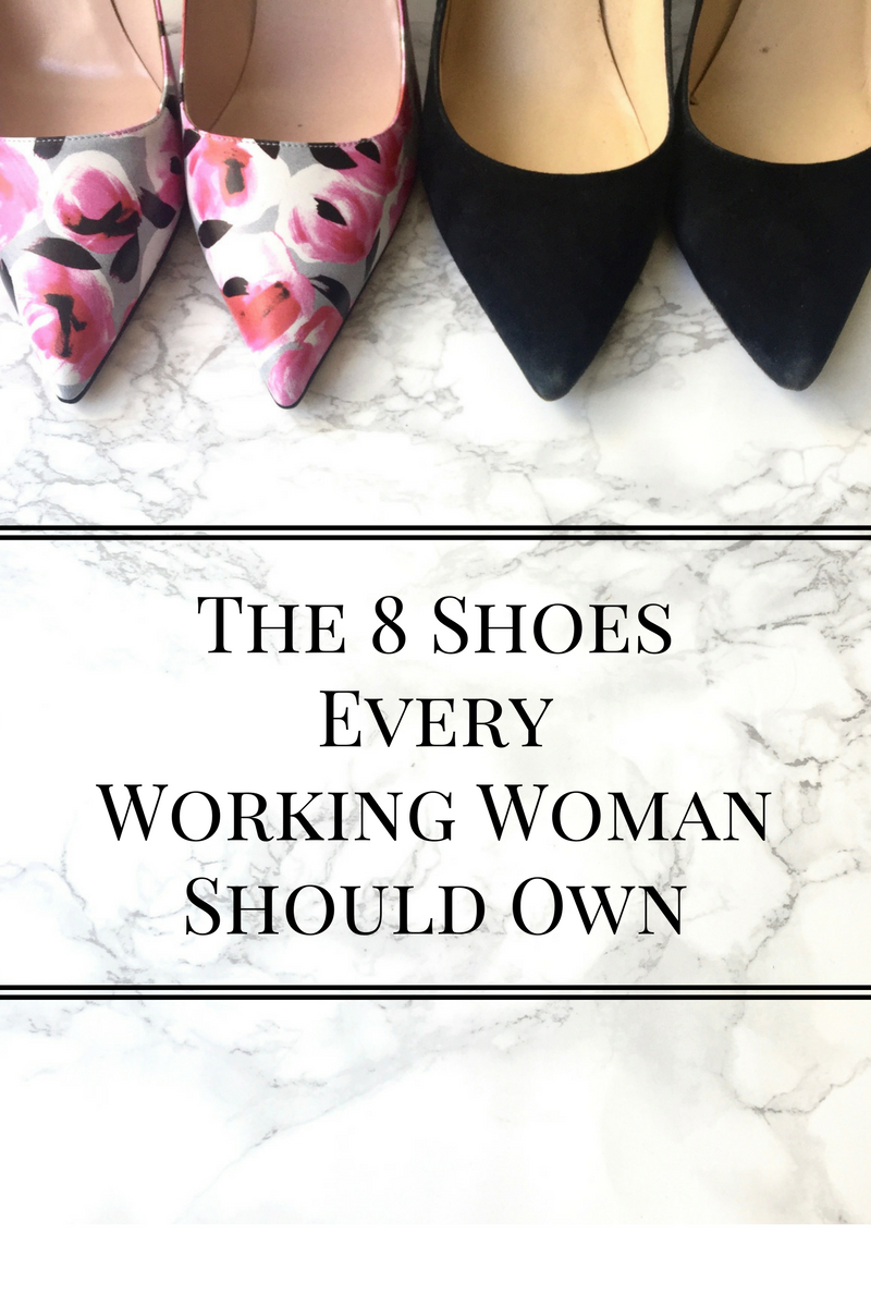 essential shoes for young professional women