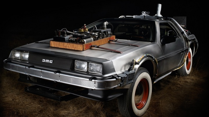 DeLorean DMC-12. Back to the Future