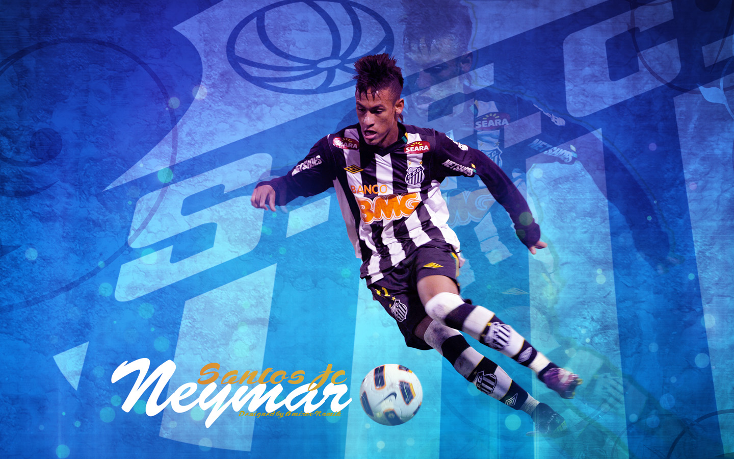football stars neymar new 2012 wallpapers