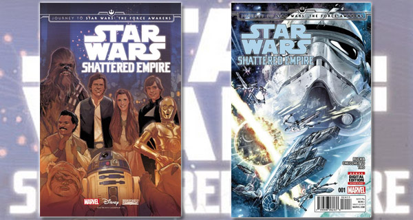 Portadas cómic Star Wars: Shattered Empire