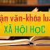 Luận án Tiến sĩ, Luận văn Thạc sĩ ngành Xã hội học (PHẦN 2)