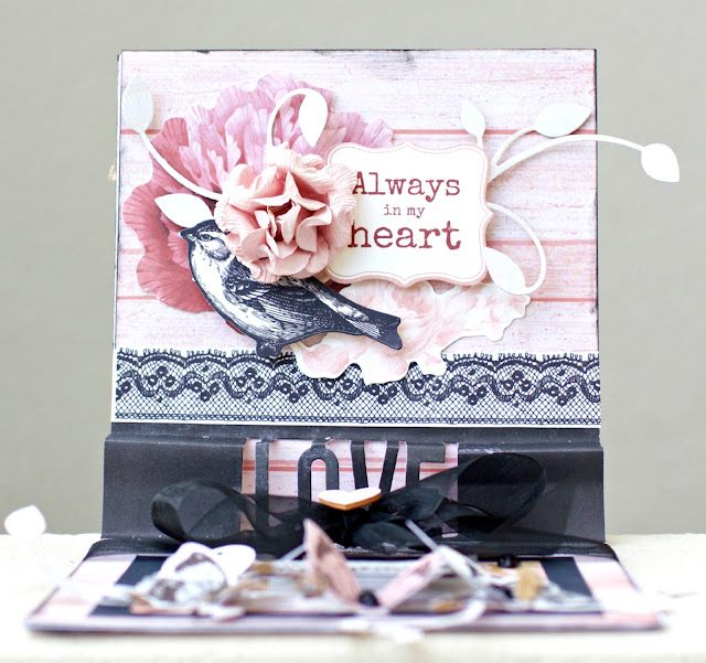 Kaisercraft Forever Card by Alicia McNamara
