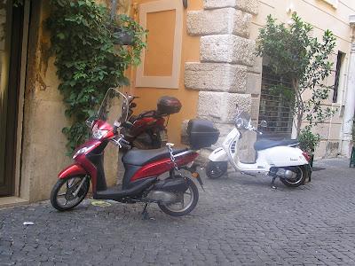 Róma, utcakép