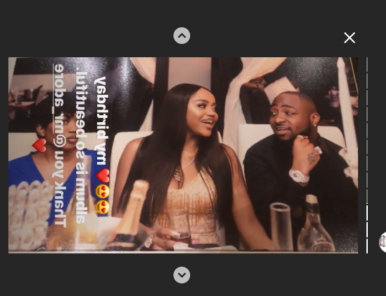 Davido's Girlfriend Chioma Shares Throwback Photos From Her 23rd Birthday on IG (Photos)