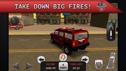لعبة رجال الاطفاء Firefighter Simulator 3D