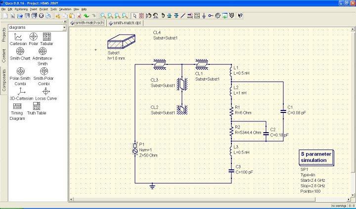 Qucs: Quite Universal Circuit Simulator   Misadventures of