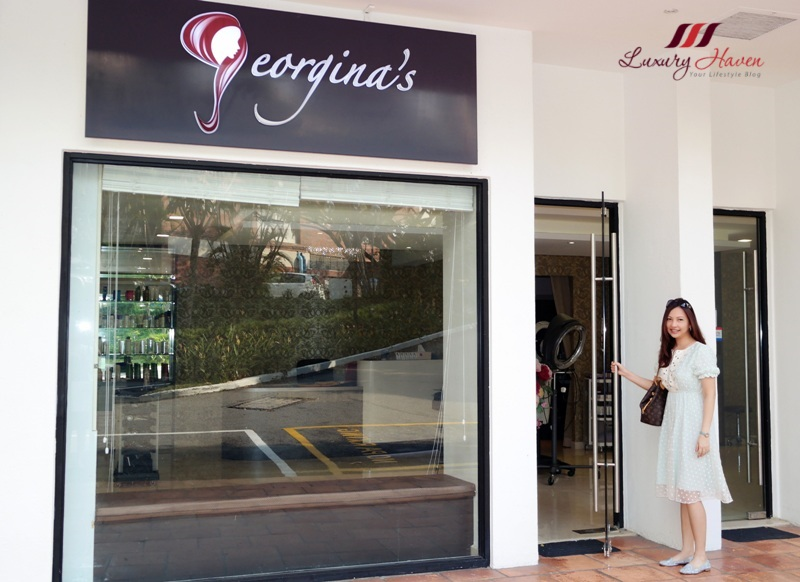 Georgina 39 s salon your one stop beauty parlour 25 off for Accolades salon reviews