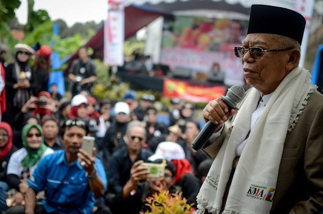 Sebut NU Pendiri Indonesia, Maruf Amin: Seharusnya Punya Saham
