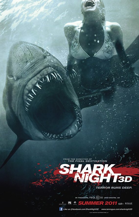 Shark Night (2011) 720p BluRay ESub Dual Hindi DD5.1 + English Download Watch Online full Movie