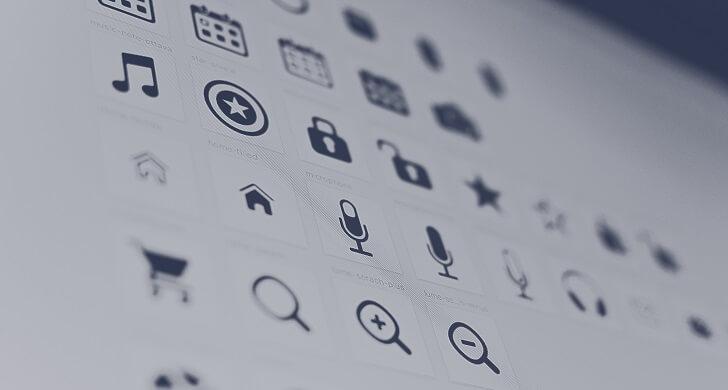 Icons dan Button
