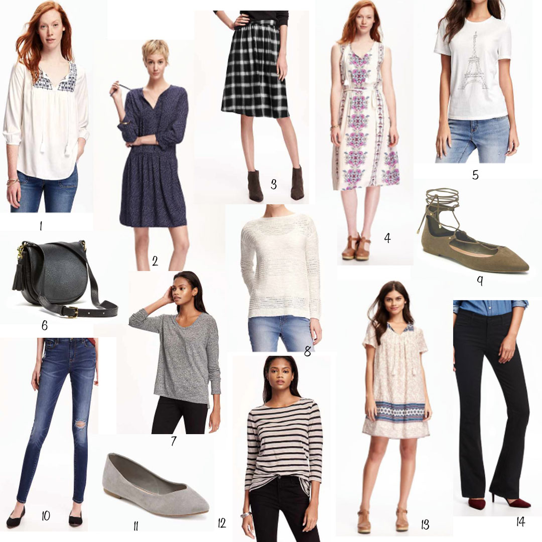 Pieces from Old Navy you Need in your Closet