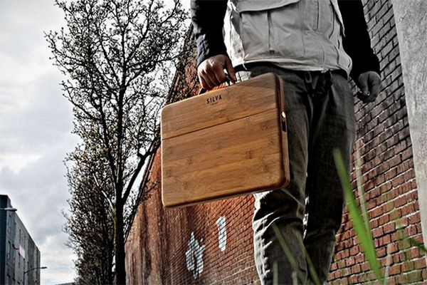 Hand-Crafted Bamboo Case for The MacBook Pro