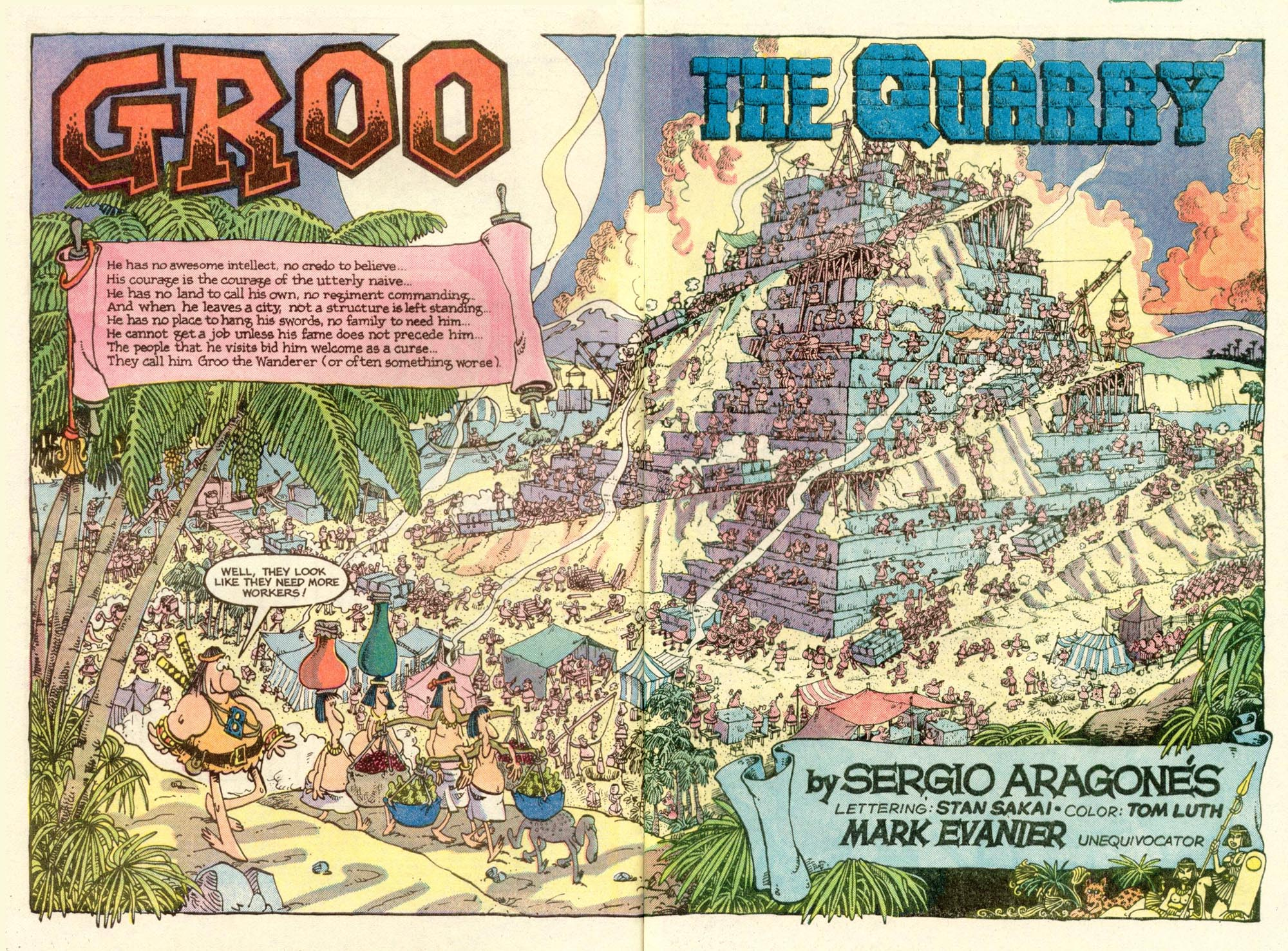 Read online Sergio Aragonés Groo the Wanderer comic -  Issue #14 - 3