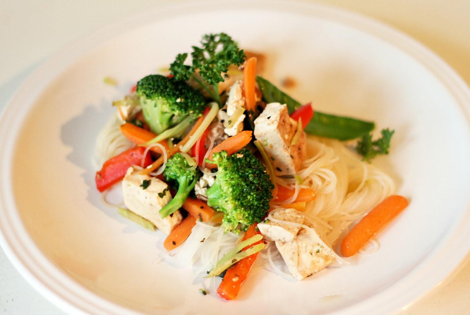 Veggie Tofu Stir Fry by Kaleb - Brewed Together