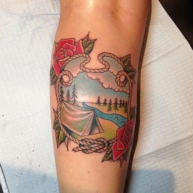 Tatuagem viagem