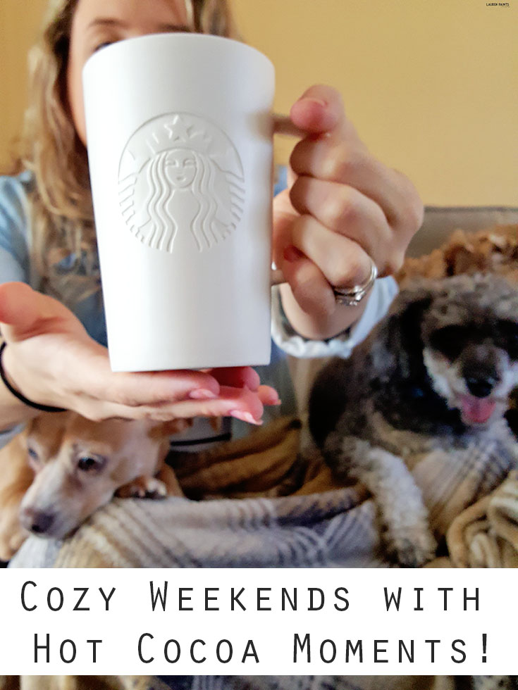 Every weekend should include Hot Cocoa and cuddles, find out how you can turn your kitchen into Starbucks and enter to win a giveaway!