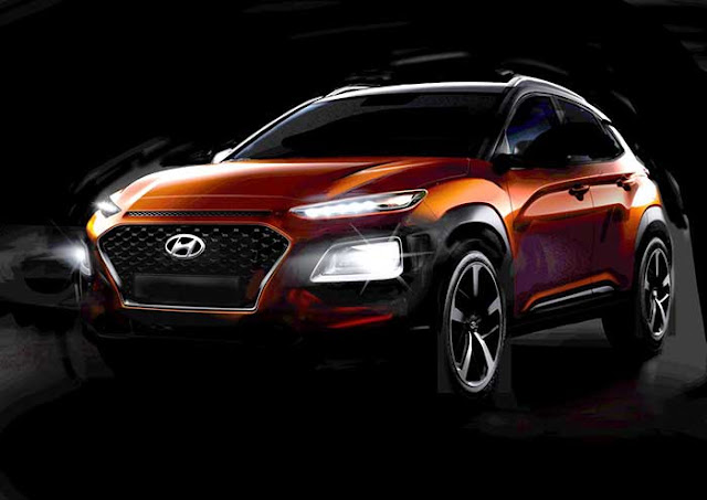Hyundai teases Kona subcompact crossover ahead of European release later this year