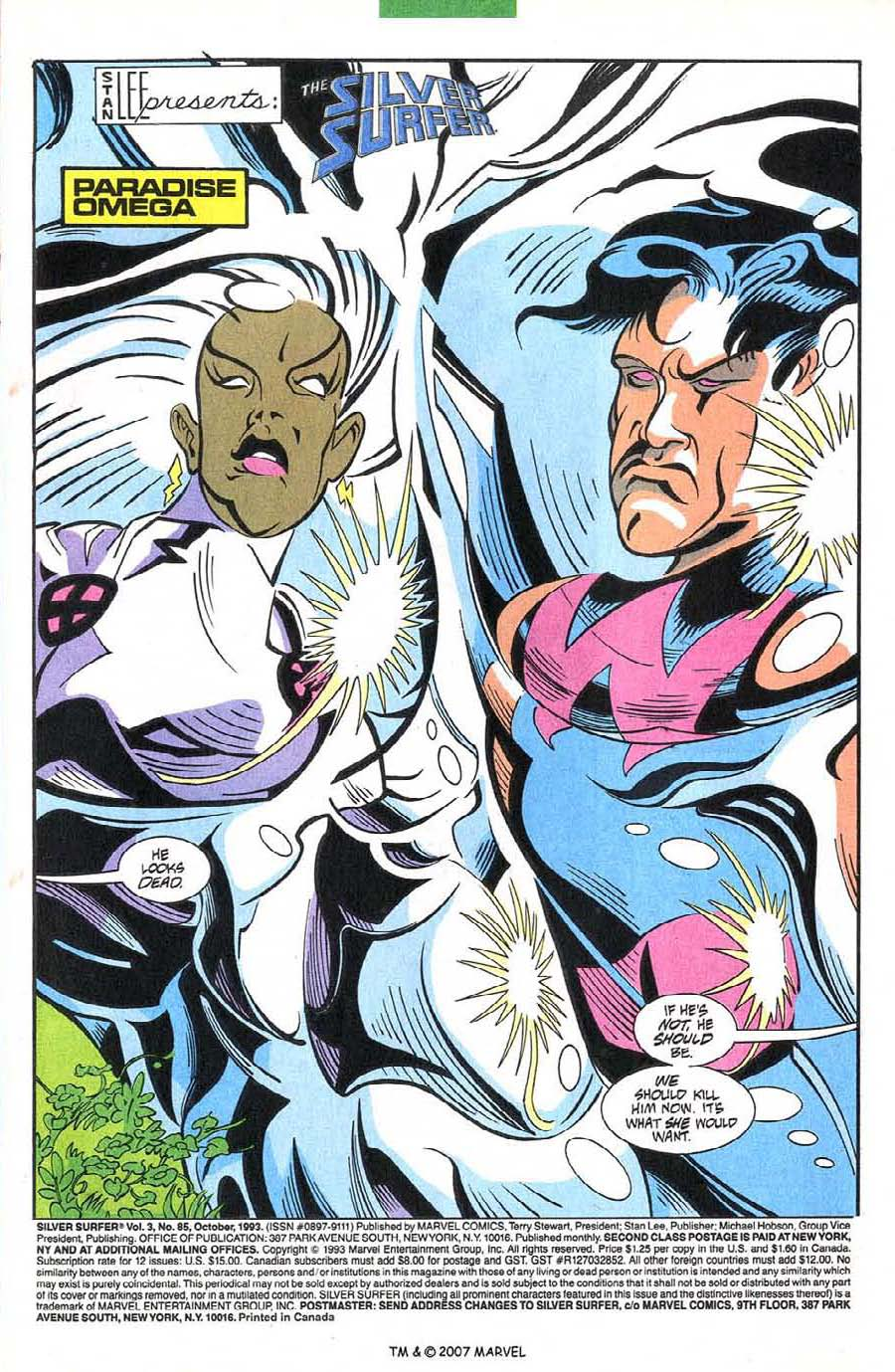 Read online Silver Surfer (1987) comic -  Issue #85 - 3