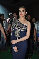 Kriti Karbandha Sizzling at Bruce Lee Music Launch HeyAndhra