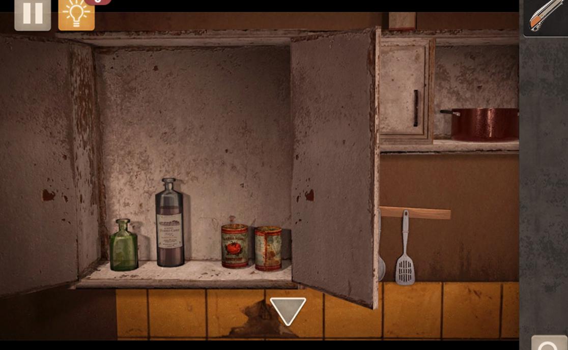 Spotlight Room Escape Bottle
