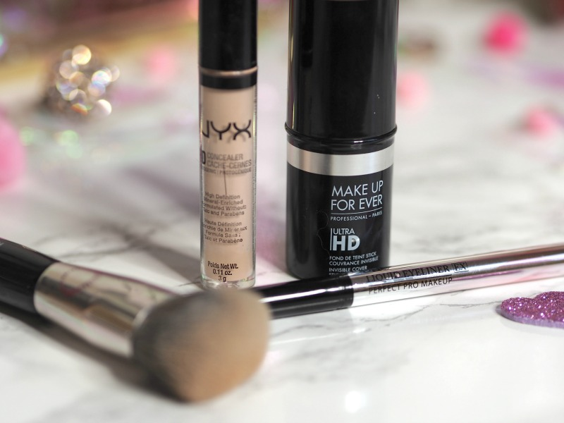 nyx hd concealer mufe hd foundation stick