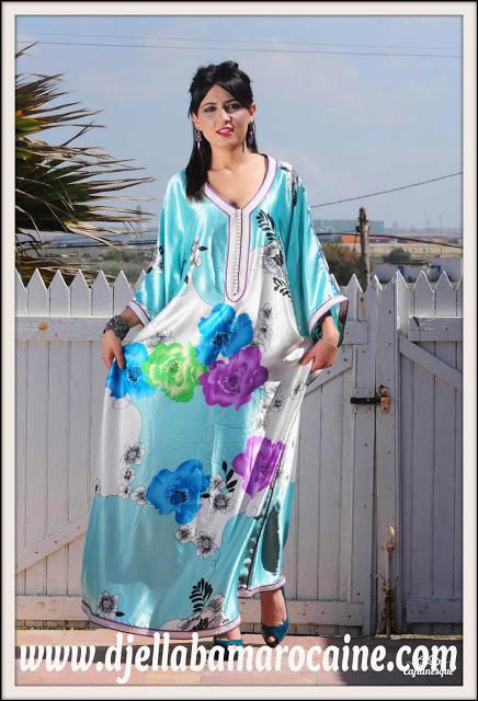 Djellaba Marocain: Gandoura Papillon - Gandoura Femme