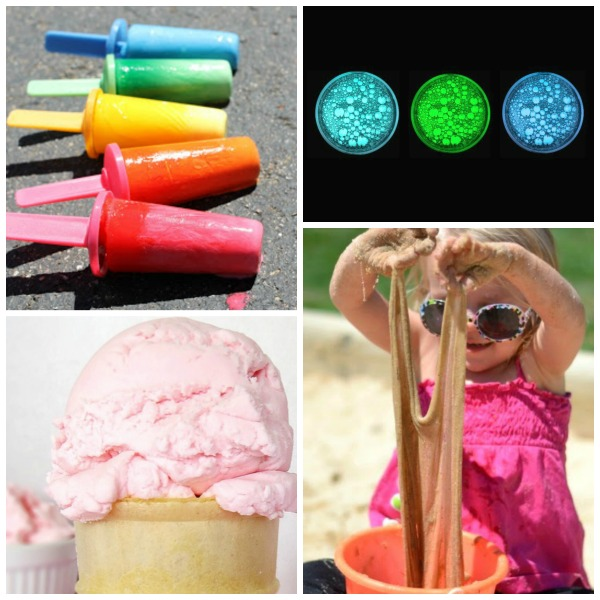 30 Summer Play recipes and activities for kids