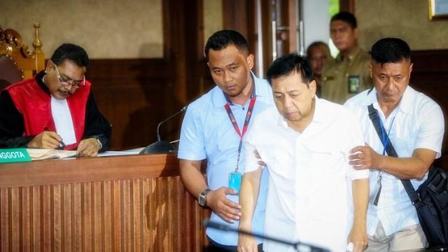Setya Novanto Berbohong dan Pura-pura Sakit, Sebut Jaksa KPK