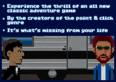 En una imagen con avatares de Gilbert y Winnick reza que son los creadores del género point & click.