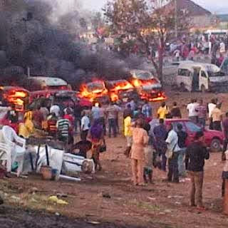 Bomb Blast At Nyanya Park Abuja As Over 100 People Confirmed Dead.